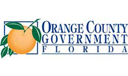 Located in Central Florida, Orange County includes the city of Orlando and a dozen other incorporated municipalities. World famous attractions, the nation's second largest convention center, and year round sunshine help make Central Florida a top business and vacation destination. Most Orange County Government offices are in downtown Orlando. Demographics include:  Population: 1,145,956 (90% urban, 10% rural; 2010 data). Land area: 903 square miles (234,800 hectares). Water area: 99 square miles (25,800 hectares). Density: 1,269 people per square mile (5 people per hectare).