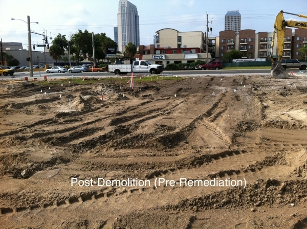 Brownfield Remediation: Former Union 76 Station