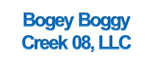 Bogey Boggy Creek 08, LLC is a site development company based in Orlando.